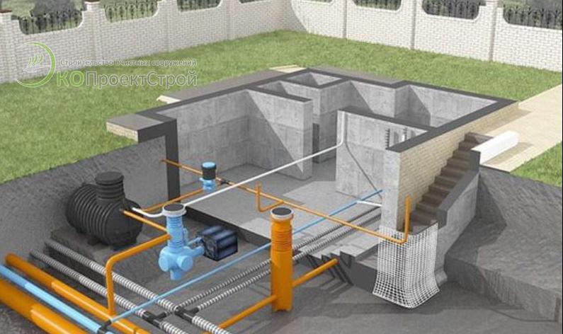 Проектирование очистных сооружений
