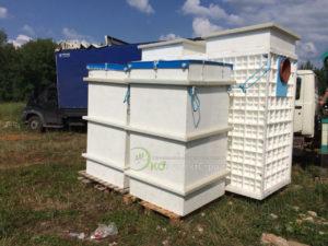 Поставка оборудования для очистки сточных вод